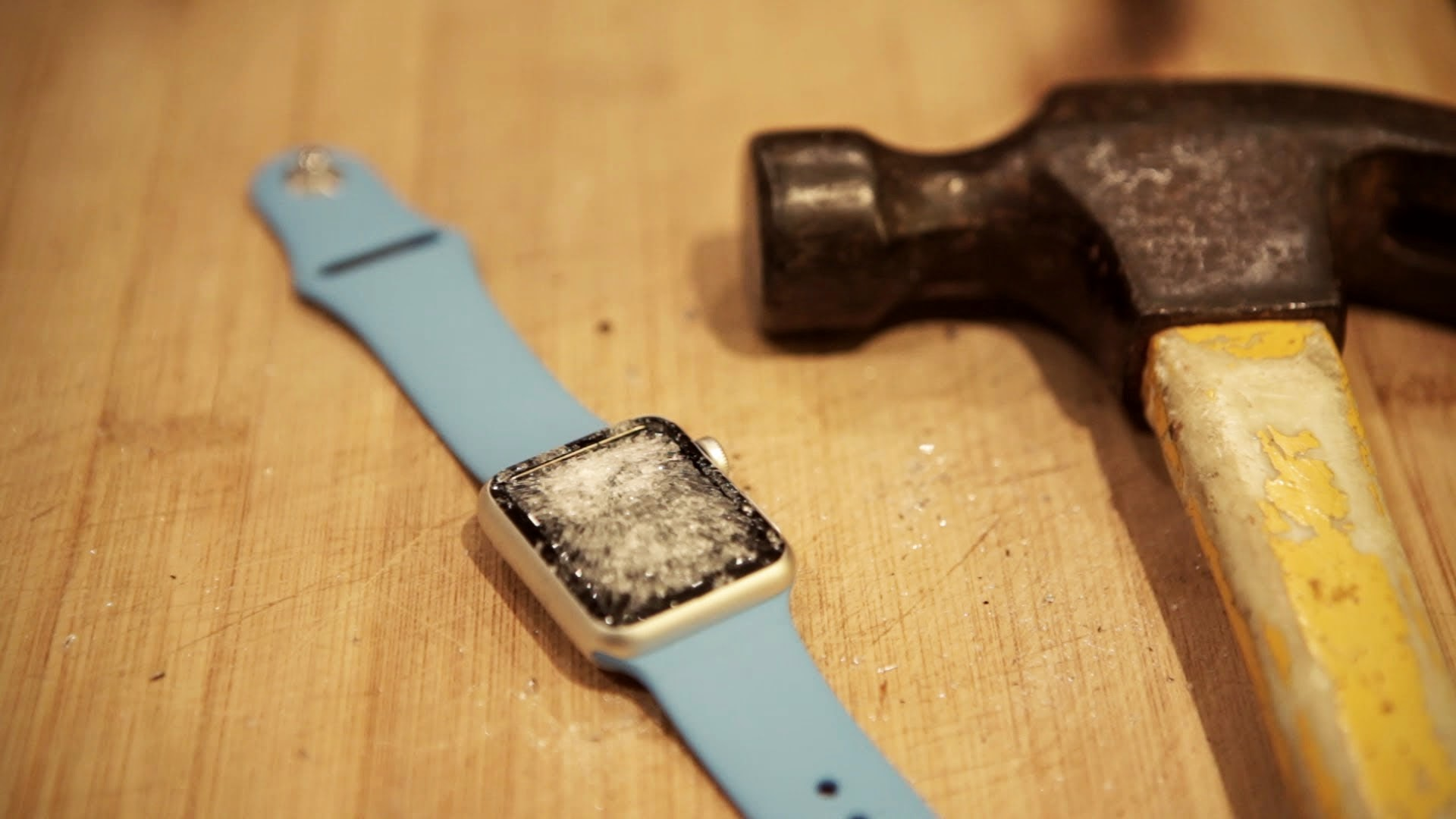Apple Watch owners: look away now. Your shiny £600 watch is a danger to us all