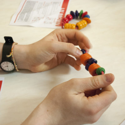 Role-play bead making